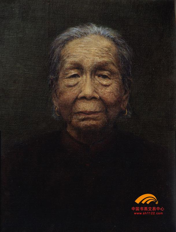 陈名流 37 母亲像 淘宝 名人字画 中国书画交易中心 中国书画销售中心 图片